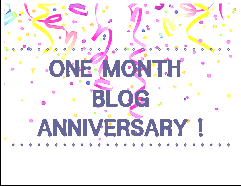 Image result for one month anniversary